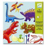 Djeco Κατασκευάζω μαριονέτες δεινοσαύροι Κωδικός: 09680