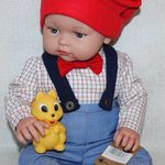 "Magic baby κούκλα Chencho ""Arthur with cap"""