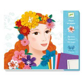 Djeco κατασκευή με χαρτί 'Λουλουδένια Κορίτσια΄ Κωδικός: 09439